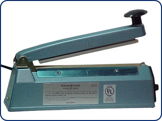 "8"" Hand Operated Heat Sealer"