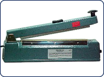 "12"" Hand Operated Heat Sealer w/ Cutter"