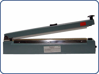 "16"" Hand Operated Heat Sealer w/ Cutter"