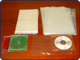 80 Gauge PVC Rectangular Shrink Bag