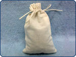 Midwest Pacific Brand Cloth Cotton Drawstring Parts Bags